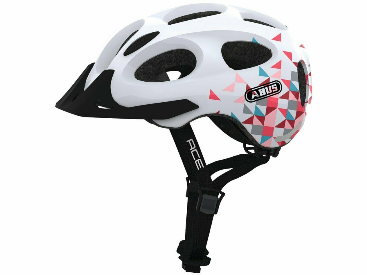 ABUS  Youn-I Ace Bicycle Helmet Medium 52-58 w  Rear Light  order now with big discount & free delivery