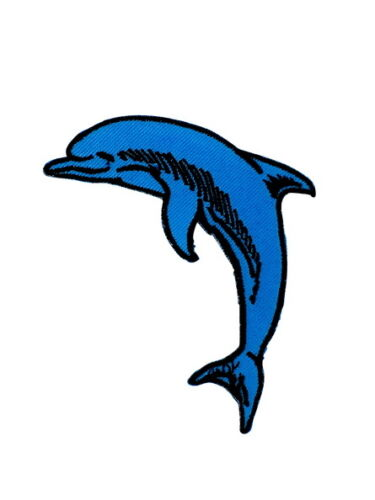 patch applique embroidered dolphin applique embroidery iron on clothings