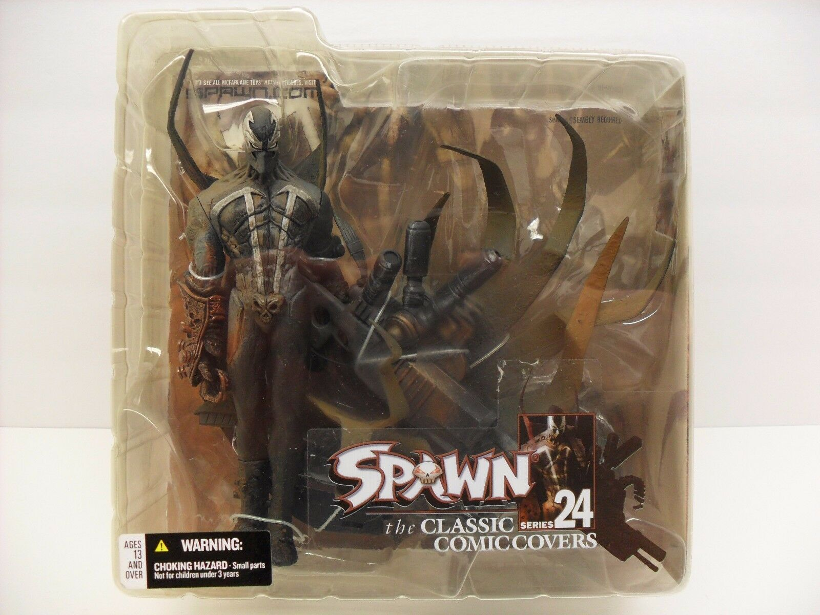 2003 McFarlane Toys Spawn Series 24 Hellspawn hsi.1 Classic Comic Covers Figure
