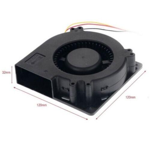 PC Computer Cooling Blower Fan Cooler 120mm 12cm DC 12V 3pin 120x120x 32mm