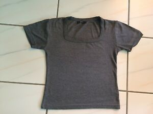graues-Damen-Shirt-von-zero-Groesse-36-S