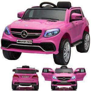 Mercedes-Benz-Gle-63S-AMG-Vehicule-Auto-Enfants-Voiture-Electrique-Rose