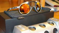 New Authentic OAKLEY MADMAN 87/150 X RAW/Fire Irid Polarized OO6019-01 Limited