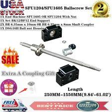 Ballscrew Sfu1605 Sfu1204 250 1550mmbfbk102x 6358mm Couplerhousing Cnc Us