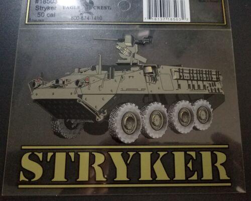 US MILITARY STRYKER .50 CAL VETERAN BUMPER STICKER DECAL L@@K!