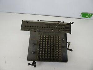 Rheinmetall-Rechenmaschine-Antik-Retro-Vintage-selten-Sammler-liebhaber