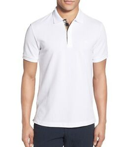 90a630b6d Image is loading NEW-Burberry-Pique-Polo-L