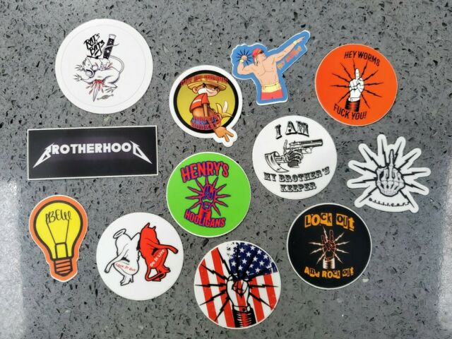 """5 pack """"See Ya On The Next One"""" Essential Worker Brotherhood Hard Hat Sticker"""