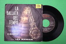 Lea Massari - La ballata del tempo/E' l'omo mio - Cam 2493 - SIGLE TV