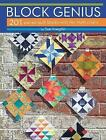 Block Genius: Over 200 Pieced Quilt Blocks with No Match Charts by Sue Voegtlin (Paperback, 2017)