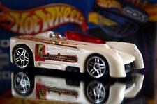 2002 Hot Wheels Planet Hot Wheels.com Electrical energy car Monoposto white