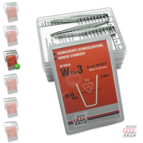 W-FIX 3 Profilschneidemesser 6-8 mm Rema Tip Top RUBBER CUT Rillcut W3 5642872