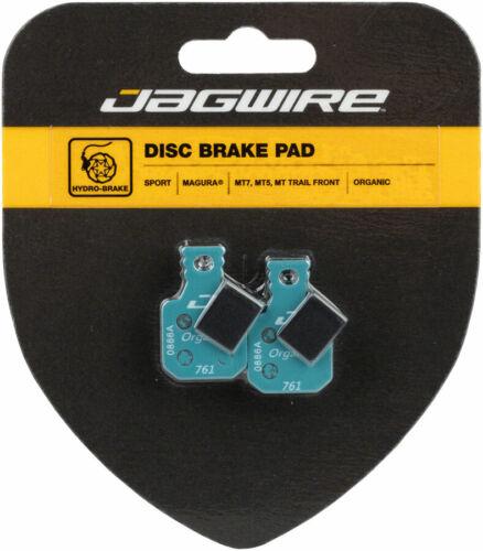 MT Trail Front MT5 Jagwire Sport Organic Disc Brake Pads for Magura MT7