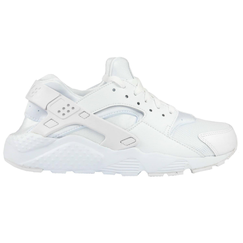 Nike Huarache Run Jungen (GS) Schuhe Turnschuhe Sneaker Jungen Run Damen Mädchen Weiß 4ad431