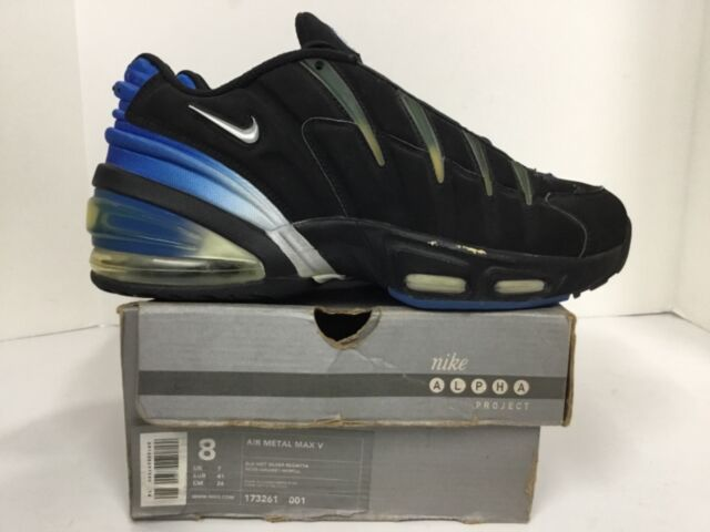 new product 06d23 73d9d Nike Air Metal Max V Mens 173261 001 size 8