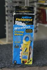 New Listingfieldpiece Sc460 400a True Rms Wireless Clamp Meter 3 Phase Rotation Test