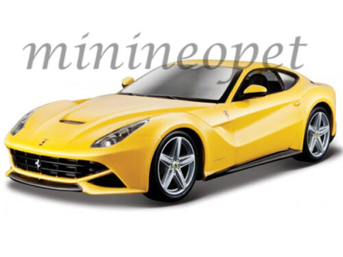 BBURAGO 18-26007 FERRARI F12 BERLINETTA 1//24 DIECAST MODEL CAR YELLOW
