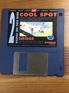 Amiga-Power-Magazine-cover-disk-34-Cool-Spot-Smidge-TESTED-WORKING
