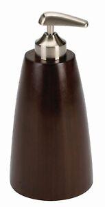Seifenspender-Umbra-BOOMBA-Bambus-Kunststoff-Farbe-espresso-9-5x19-5-cm-xH