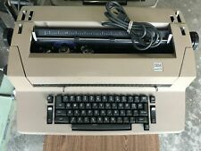 Vintage Ibm Correcting Selectric Ii 2 Brown Typewriter Parts Only