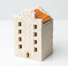 Wise Elk House construction toy, real plaster bricks, gypsum house building 400