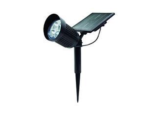 Solar Gartenstrahler Nelis Mit 8led 120lm Solarleuchte Bodenstrahler Spotlight Warmes Lob Von Kunden Zu Gewinnen Beleuchtung