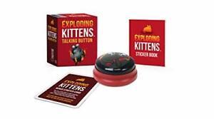Exploding-Gattini-Talking-Bottoni-Minis-Da-LLC-Exploding-Gattini-Nuovo-Libro