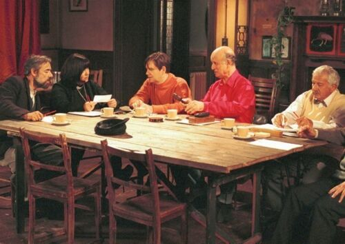 The Vicar Of Dibley Cast Table Poster