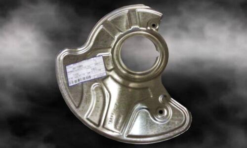 rotor stone guard shield left - 04779201AA Chrysler 300c front brake disc