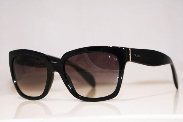 5a628aad2ef PRADA Womens Designer Sunglasses Black Butterfly SPR 07P 1AB-0A7 15227