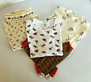 Lot-of-3-LS-Winter-Pullover-Shirts-size-XL-Gifts-Snowmen-Cardinals-PLUS