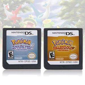 Pokemon-SoulSilver-Diamond-HeartGold-For-Nintendo-DS-3DS-NDSI-NDSL-NDS-Card