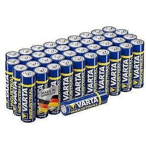 VARTA Industrial Alkaline Battery AA - 40 Pieces