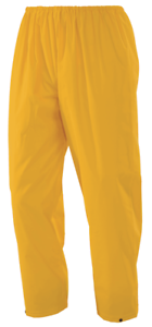 2x Workhorse PVC TROUSERS MPA045 Welded Seams YELLOW- Size XL, 2XL Or 3XL