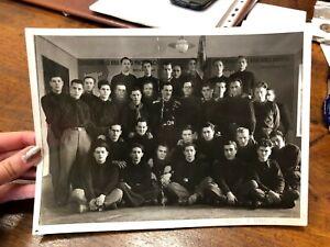 FOTOGRAFIA MILITARI SCUOLA BALILLA FASCISMO FOT. PERUCICH G. GERICEVICH ZARA 22
