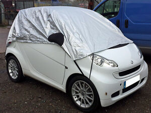 Image Is Loading Smart Fortwo Citycar Half Size Car Cover