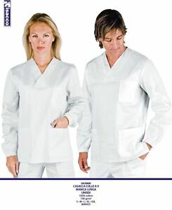 Clothing, Shoes & Accessories Systematic T-shirt Ample MÉdecin InfirmiÈre Blanc Bleu Vert Isacco 100% Coton MÉdical High Standard In Quality And Hygiene
