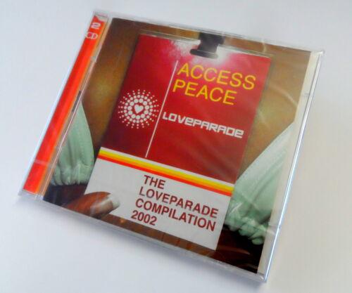 1 von 1 - THE LOVEPARADE COMPILATION 2002 - ACCESS PEACE - DOPPEL CD ALBUM MUSIC MUSIK NEU
