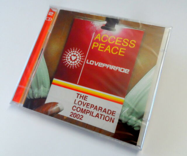THE LOVEPARADE COMPILATION 2002 - ACCESS PEACE - DOPPEL CD ALBUM MUSIC MUSIK NEU