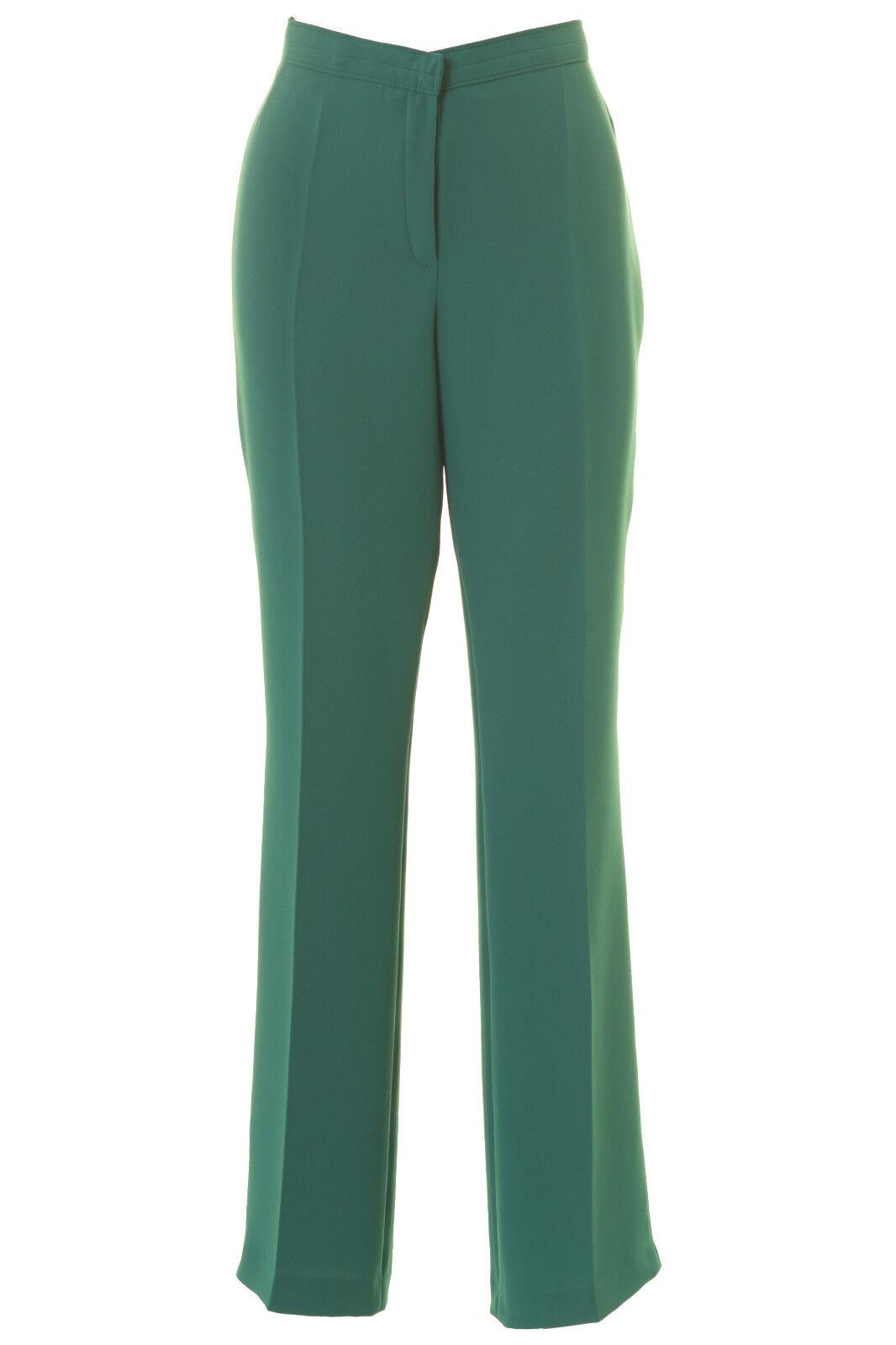 Busy Jade Green Smart Ladies Trousers