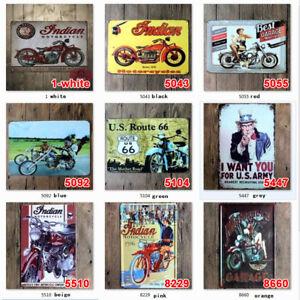 20-30cm-Metal-Lata-signos-Motocicleta-Placa-Arte-Pared-Poster-pinturas-de-garaje-de-hierro