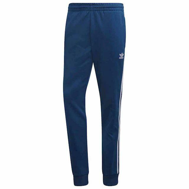 NEW DV1533 MEN'S ADIDAS ORIGINALS SST TRACK PANTS !! BLUEWHITE