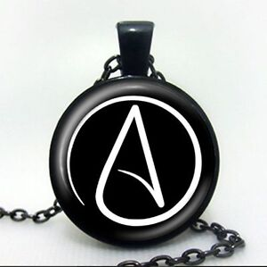 Atheist symbol atom chain pendant necklace atomic whirl religious image is loading atheist symbol atom chain pendant necklace atomic whirl aloadofball Gallery