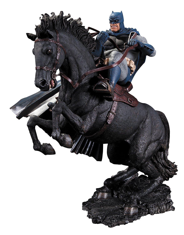 Dc comics statue batman dark knight gibt ruf zu den waffen sammlerstck abbildung