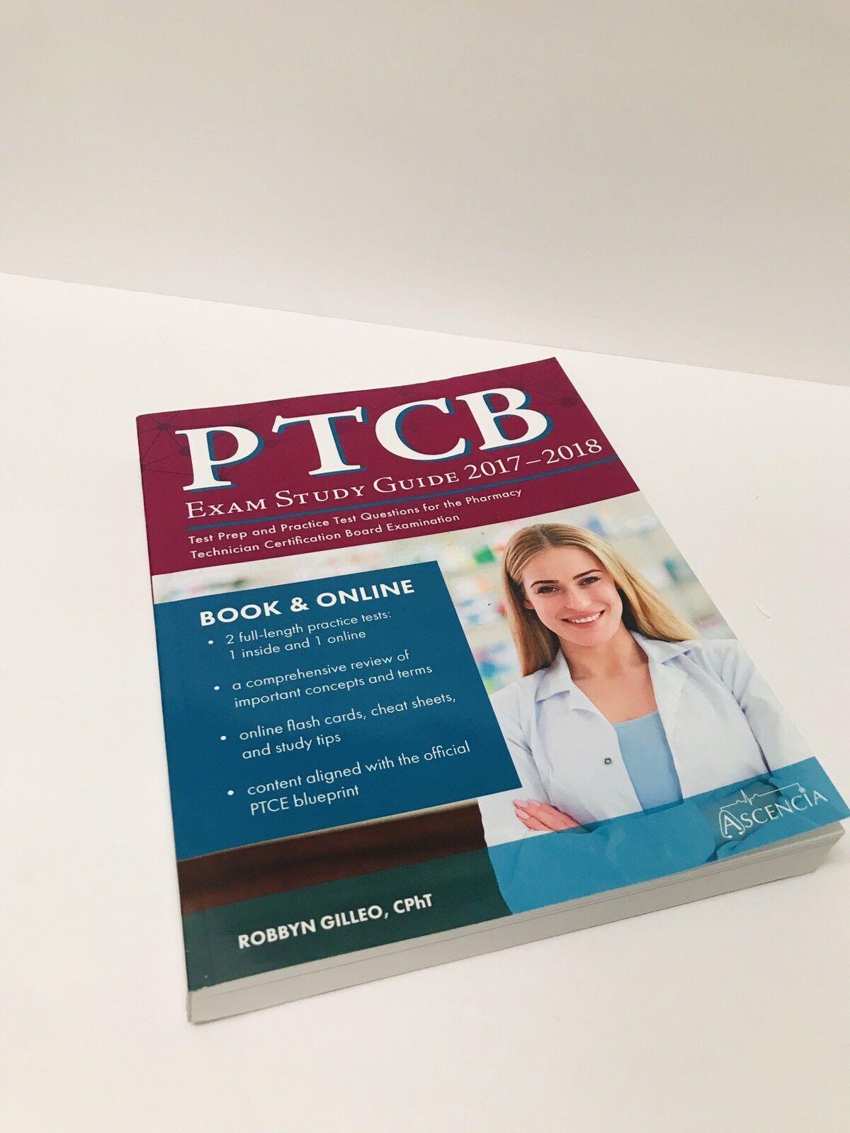PTCB 2017 2018 Pharmacy Technician Exam Prep Study Guide Practice Questions  | eBay