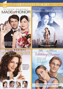 My Best Friend S Wedding 2016.Made Of Honor Maid In Manhattan My Best Friends Wedding The Wedding Planner Dvd 2016 4 Disc Set