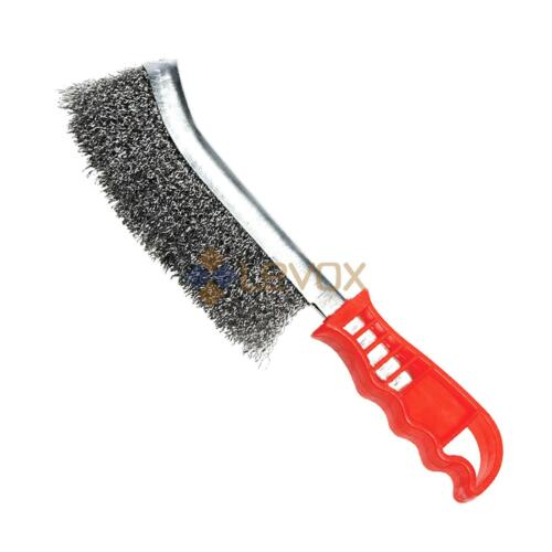 Stainless Steel Brass Plated Wire Scratch Brushes Rust Removal Metal