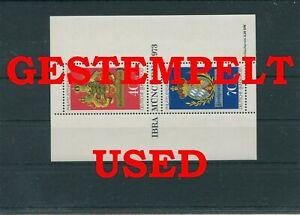 Germany-Federal-Frg-vintage-yearset-1973-Block-9-Postmarked-Used-More-Sh-Shop