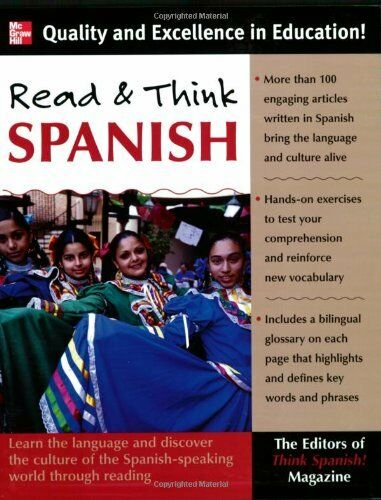 Read And Think Spanish (Book): The Editors of Think Spanish Magazine: Learn the