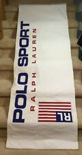 """Polo Sport Ralph Lauren Banner Store Display Double Sided 70"""" X 24"""" Flag Shirt"""